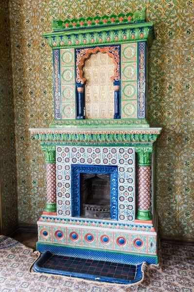eramic heater, Isfandiyar Palace, Khiva