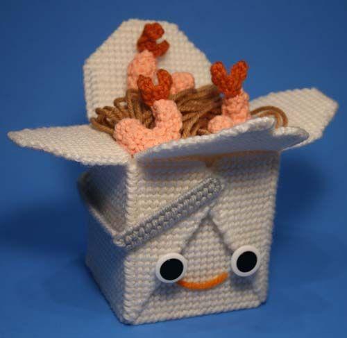 Needlepoint and crochet by Nicole Gastonguay