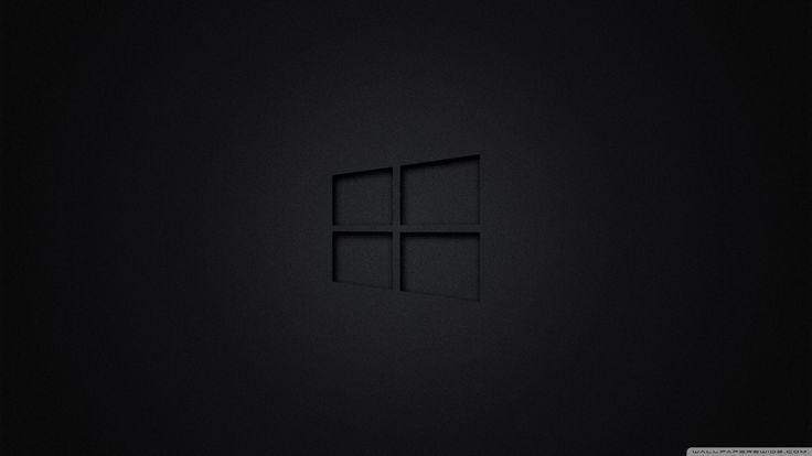 10 New Windows Wallpaper Hd Black FULL HD 1080p For PC