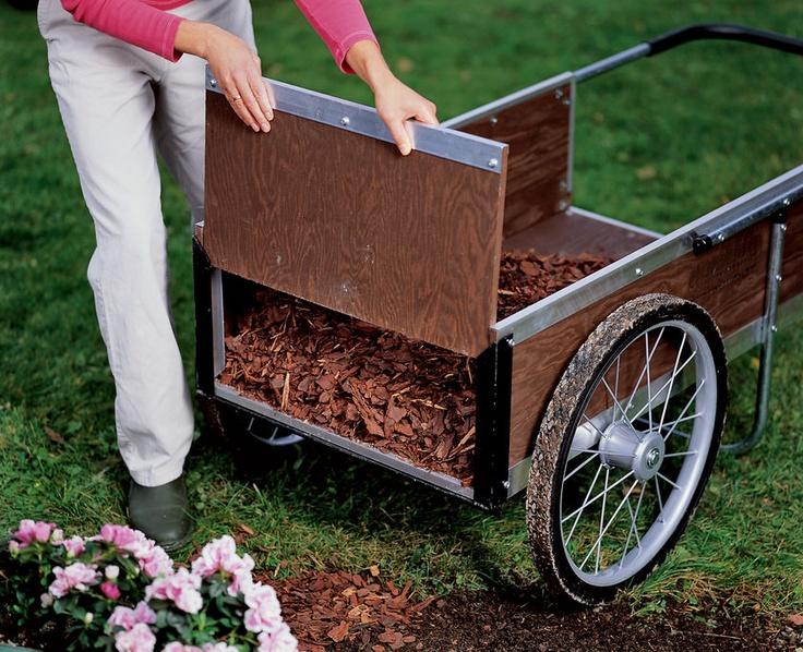 Our Exclusive Vermont Built Medium Garden Cart Is Long Lasting And  Hard Working