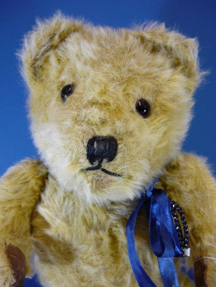 Golden Mohair Teddy Bear Vintage C1940