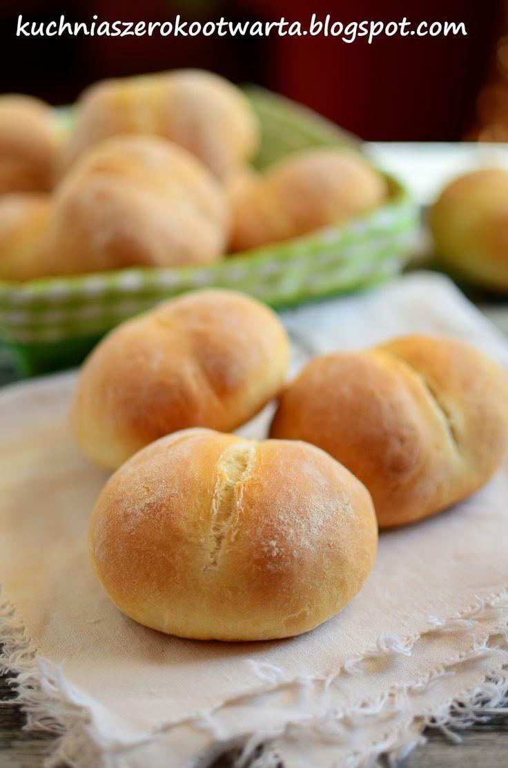 Kuchnia szeroko otwarta: Bułki pszenne