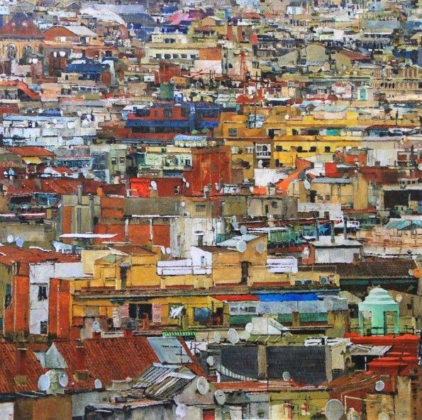Kunstenaars | Ronald Dupont | Barcelona II | Absolute Art Gallery