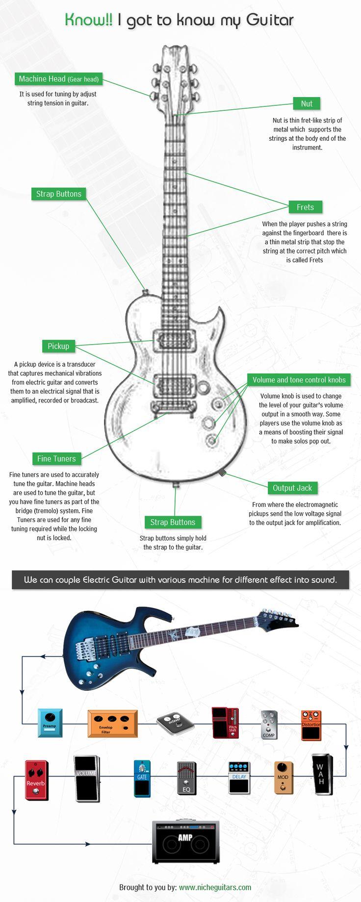 25+ best ideas about Electric Guitar Parts on Pinterest | Guitar ...