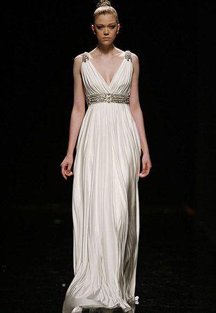 vestido de novia estilo romano - Google Search