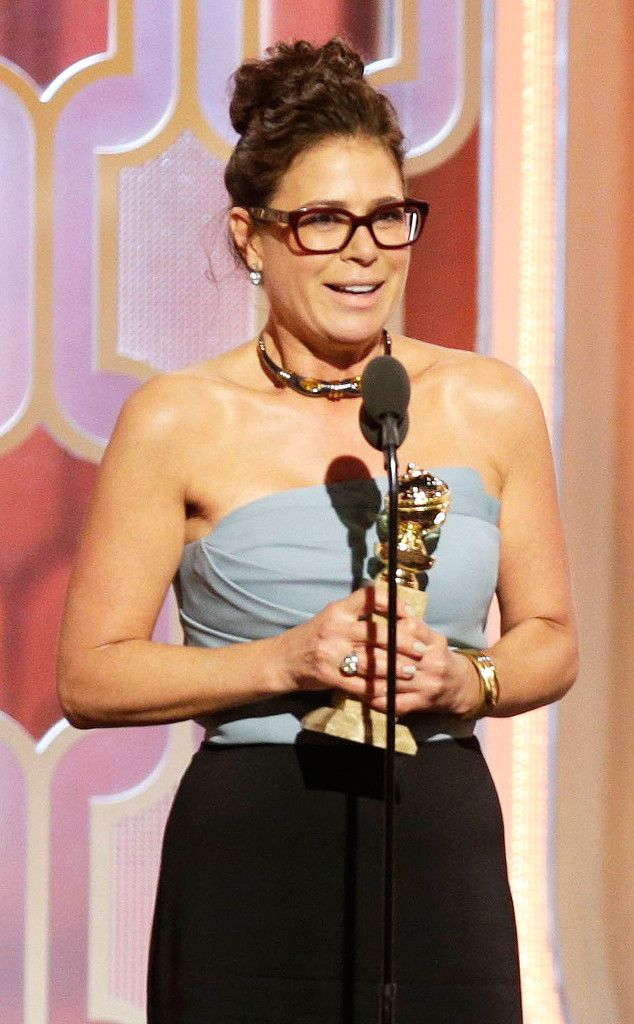 "73rd Annual Golden Globe Awards - Maura Tierney WON an award for Best Supporting Actress In A Series, Limited Series, or TV Movie ""The Affair."""