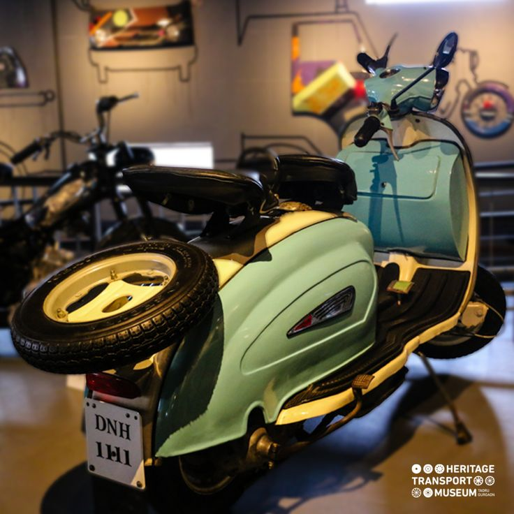 The Lambretta Scooter is amongst the old Innocenti built scooters, which were assembled by Automobile Products of India!  #lambretta #vintagescooter #vintagecollection #transportmuseum