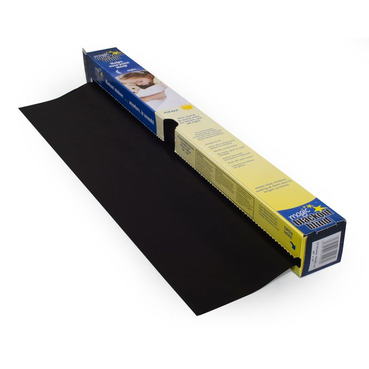 Magic Blackout Blind - 50 Square Feet of Static Cling Blackout - MW4110