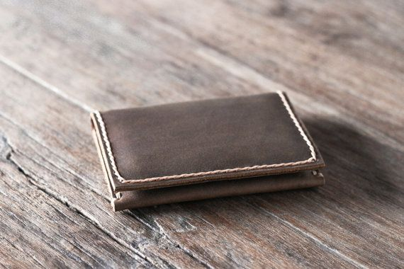 Wallet Leather Credit Card Wallet Mens Wallets Gifts by JooJoobs
