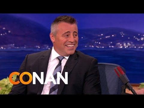 Matt Leblanc Teaches Conan Some Newton Massachusetts Slang Matt Leblanc Is From One Of