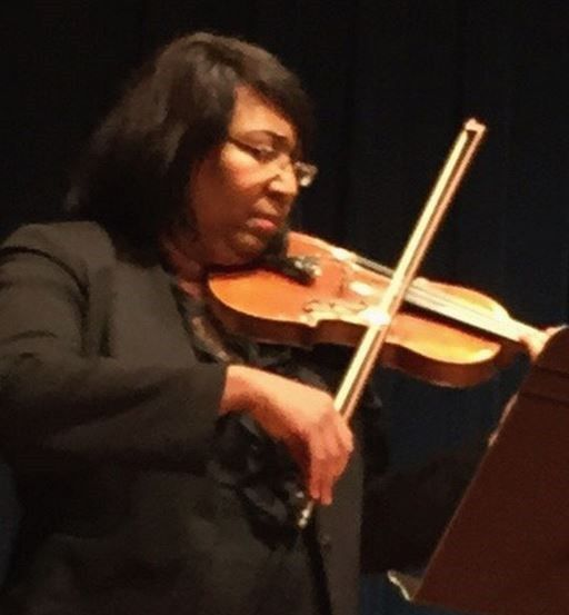 Candy Carson, violinist. Wife of Dr. Ben Carson.