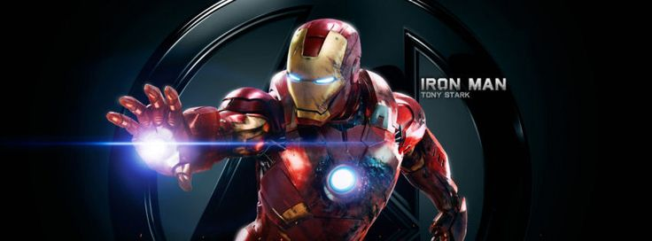 Iron man Tony Stark facebook cover