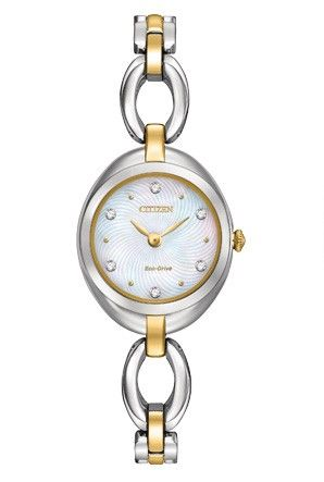$325.00 Citizen Eco-Drive Women's Two-Tone Stainless Steel Watch