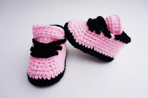 Nike Style Shoe Crochet Pattern Baby  Shoes Crochet Sneaker