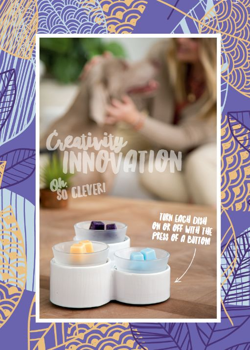 Let your creative senses take over with this fabulous new upcoming warmer.  Scentsy Catalog 2016 Fall & Winter - Available to purchase 9.1.2016. If you do not have a current consultant & want a catalog in your fabulous hands - let me know!