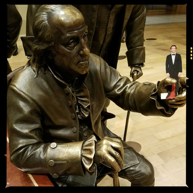 Mini-Cooper with Ben Franklin. For more visit www.mylifewithbradleycooper.com