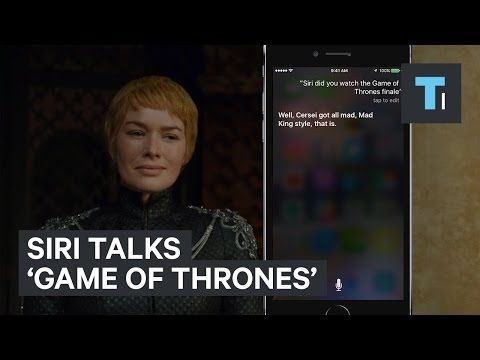 Tech Insider: Siri talks 'Game of Thrones'