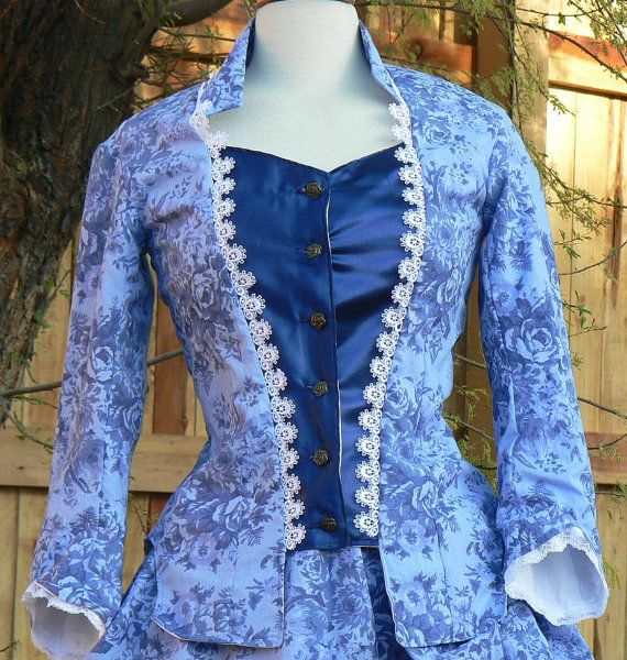 Vctorian Bustle Gown Historical Costume Dress by ItsNotPajamas