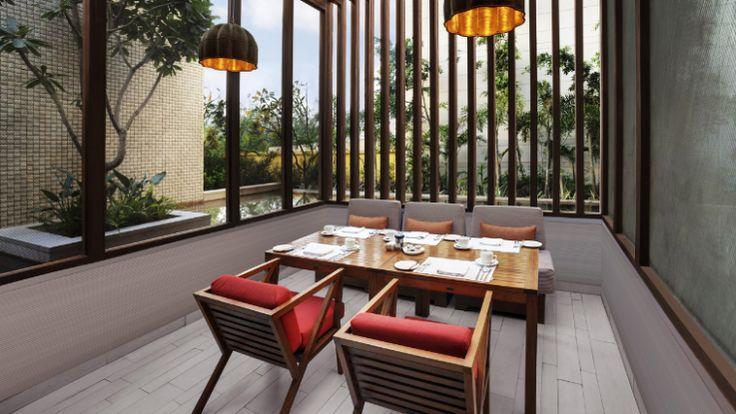 Hyatt Amritsar - Thai Chi Outdoor Dining