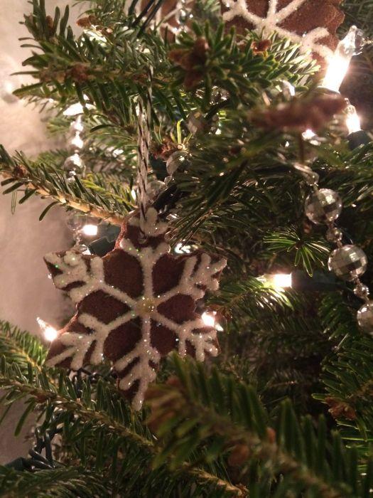 """""""Gingerbread"""" Salt Dough Ornaments – Brookly…"""