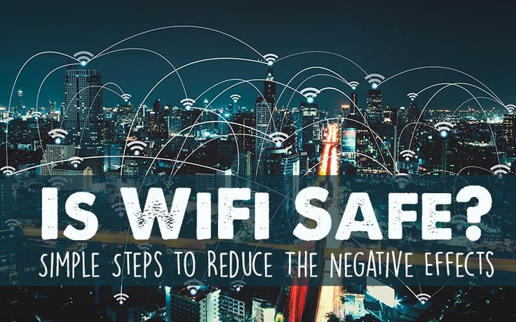 There are many reasons to reduce the amount of WiFi exposure we get daily, especially until we know more about long-term safety. Use these simple steps!
