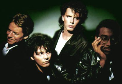 Robert Palmer, Andy Taylor, John Taylor and Tony Thompson: together the Power Station...