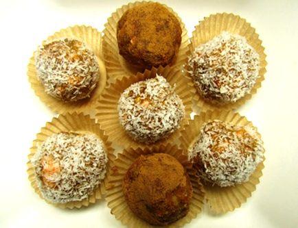 Raw Food Recipe: Raw Carrot Cake Bliss Balls