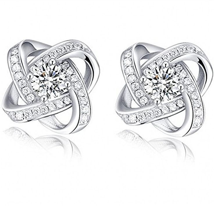 Silver Masters 925 Sterling Silver Stud Earrings ** Read more reviews of the product by visiting the link on the image.