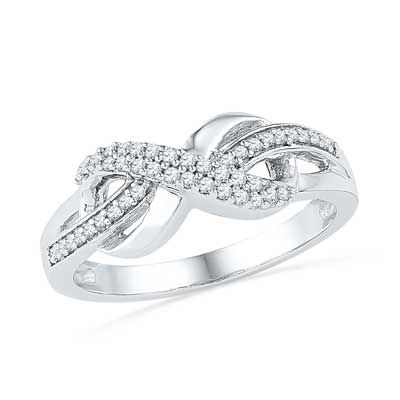 Lab Created Diamond Fashion Rings Lab Created White Sapphire and