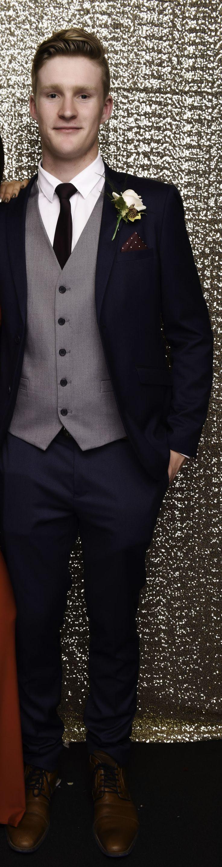Grammar School Ball 2017. Love this three piece suit!