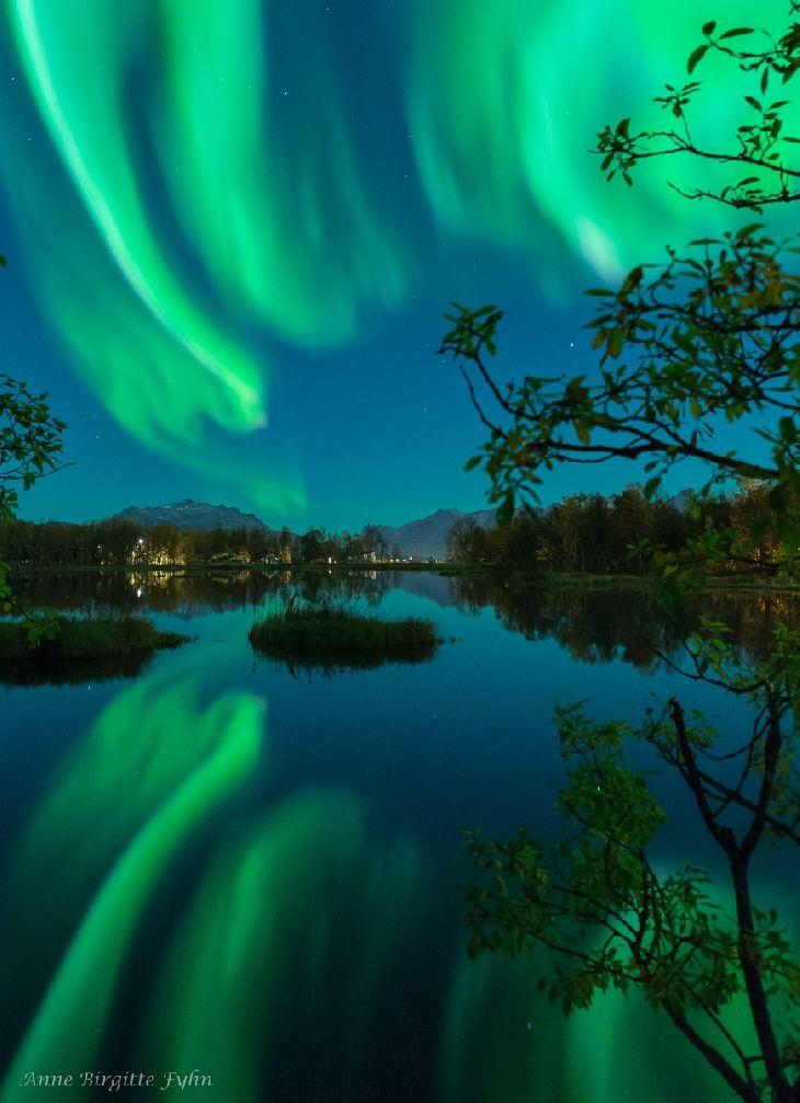 Auroras Taken by Anne Birgitte Fyhn on September 20, 2016 ...