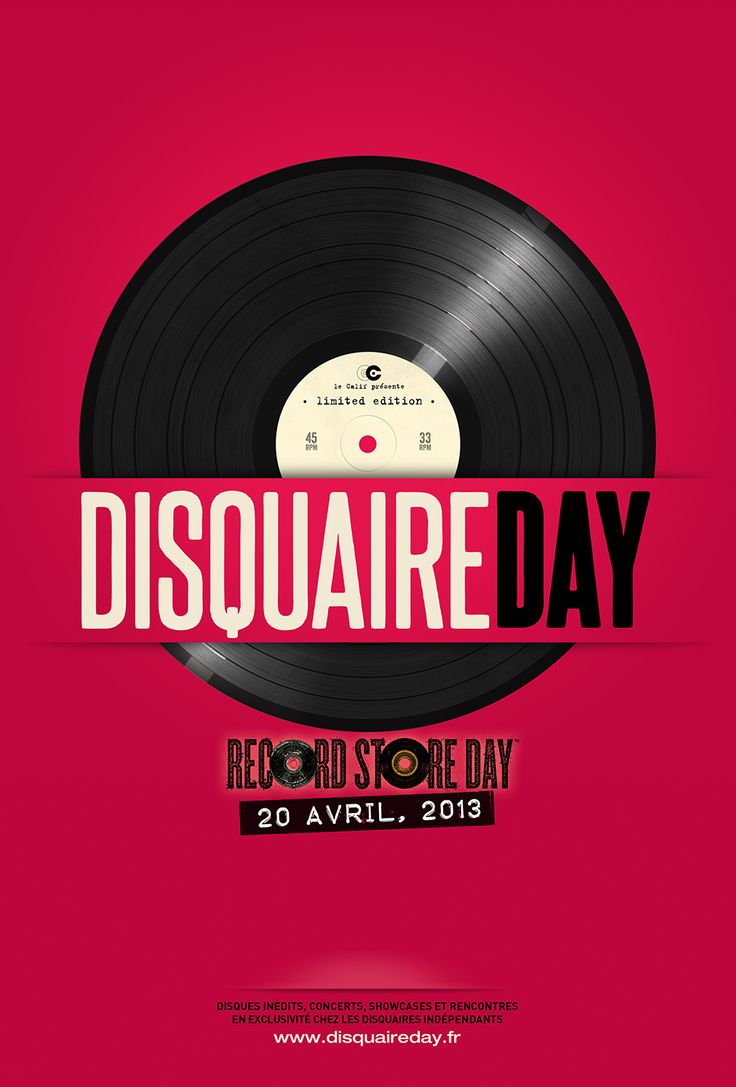 Poster for DisquaireDay 2013