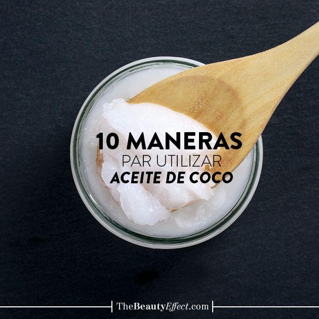 El aceite de coco no sólo refuerza el cuero cabelludo, también suaviza y controla el frizz. Conozcan más usos aquí >>> https://goo.gl/MGBUCE