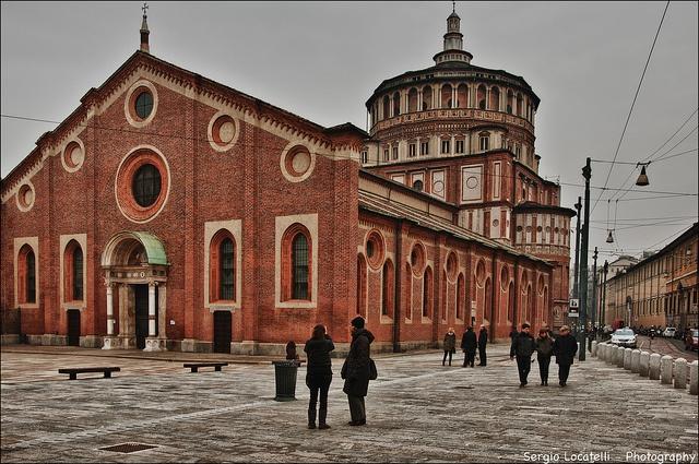 Milano - Santa Maria delle Grazie by agoralex (hunter of clouds), via Flickr