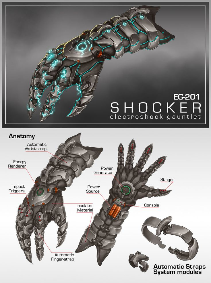Commission: EG201 SHOCKER Gauntlet