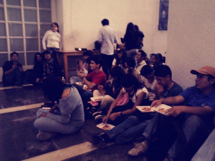 Foto No.5 #PizzaHub 01 (28/04/2012) en Facultad de Ingeniería, UNAM