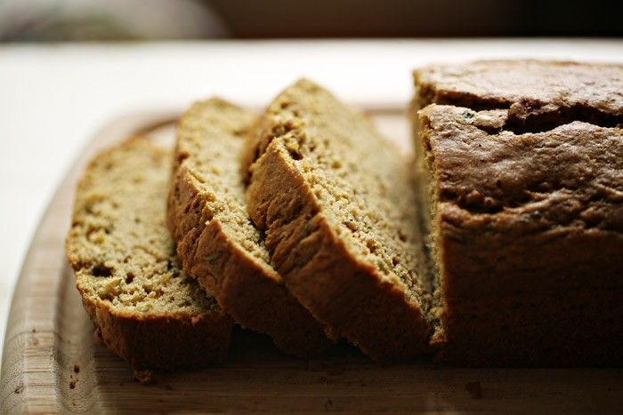 Olive Oil Zucchini Bread - Light, moist, and subtly flavored - I just wouldn't make it that sweet...