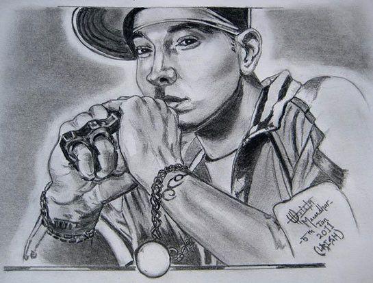 Eminem Fan Art | Fan Art Friday | Pinterest