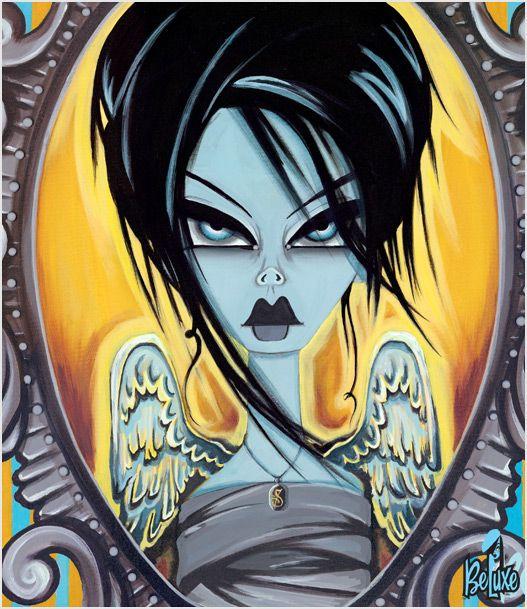 Wings of Desire Skin #BevHogue #Art