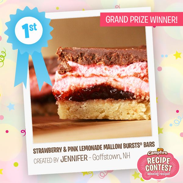 28 best recipe contests images on pinterest recipe contests congratulations to jennifer in goffstown nh she takes the grand prize for her strawberry recipe contestscongratulationsbar forumfinder Gallery