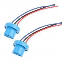2PCS 9007 HB5 LED Headlight Bulb Replacement Female Sockets