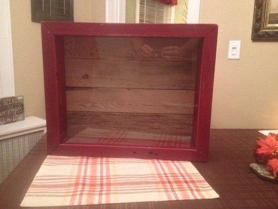 Rustic Reclaimed Wood Shadow Box