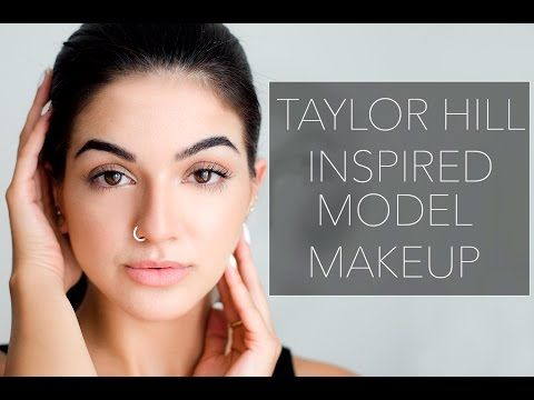 Taylor Hill Inspired Model Makeup // ModernDayShivalry - YouTube