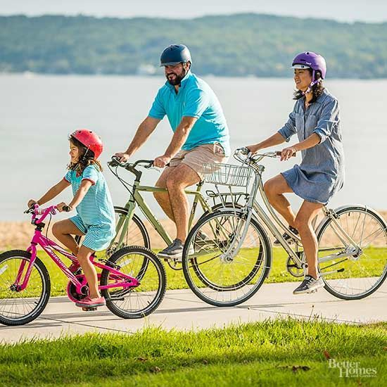 Teach your child how to ride a bike in just 15 minutes! This should be a fun experience shared by the two of you. Learn how to easily take off the training wheels and let them fly on their new adult bike!