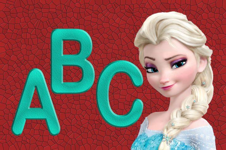 El abecedario en ingles para niños | Canciones Infantiles para Aprender ...