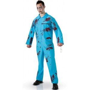 Déguisement Prisonnier Zombie adulte homme, Costume Zombies, Halloween, fêtes.
