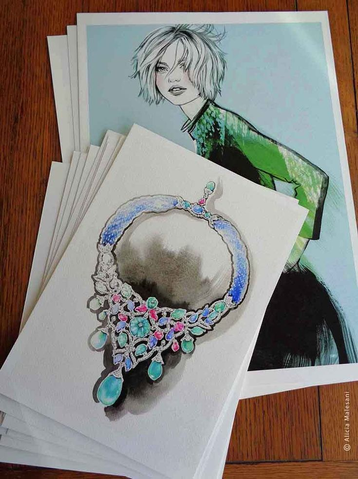 Giclée Prints - A4 and A3 sizes on high quality watercolor paper available at: https://www.aliciamalesani-illustrator.com/shop/