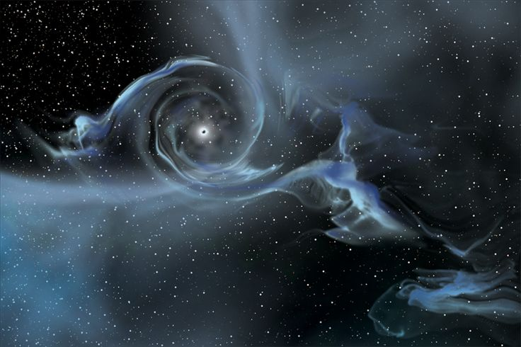Theory says black holes might be able to transport you to other places.