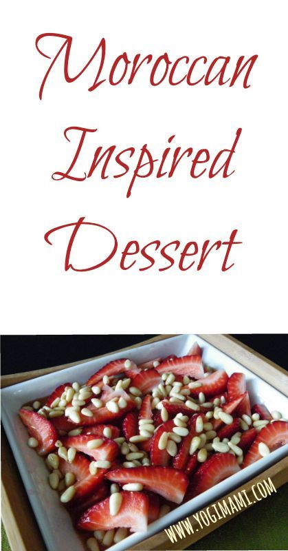 Easy moroccan recipes dessert
