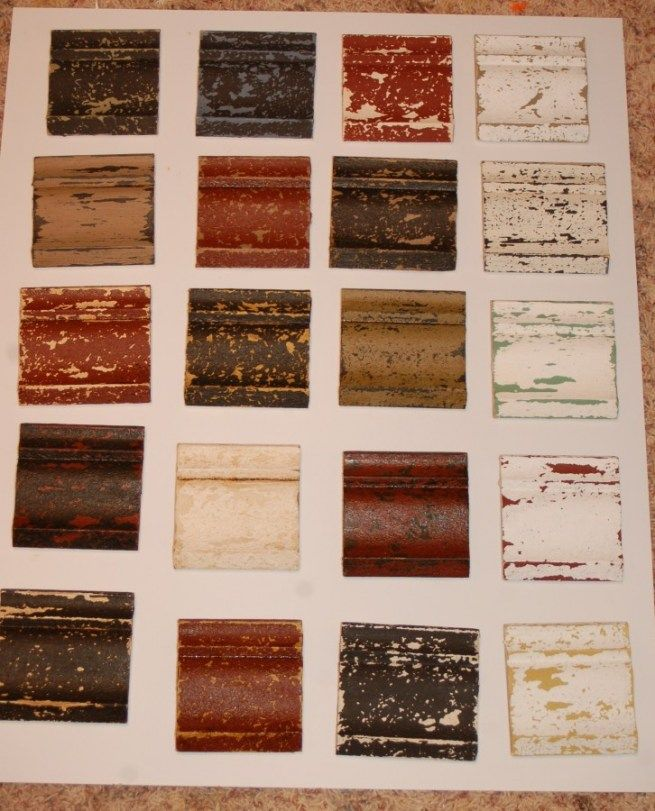 Color Combinations For Distressed Furniture
